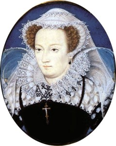 Mary, Queen of Scots in captivity, by Nicholas Hilliard 1578