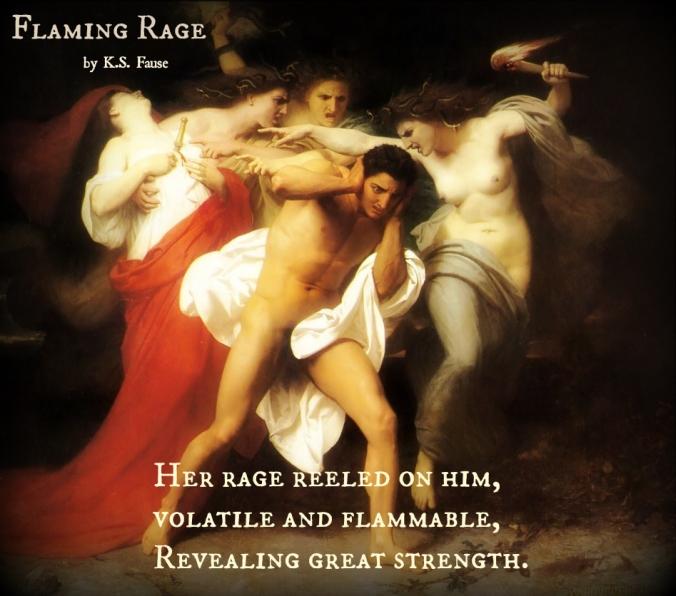 Flaming Rage Haiku