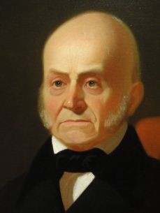 John Quincy Adams by George Caleb Bingham, c. 1850 after 1844 original. Exhibited in the National Portrait Gallery, Washington, DC, USA.